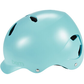 Bern Bandita EPS Kinderhelm Thin Shell satin-blau